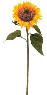 artificial sunflowers artificial sunflowers yellow sunflower stem ezpass club