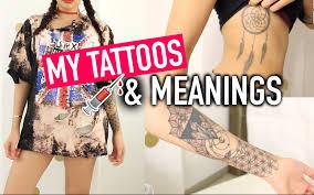 simplynessa15 simplynessa15 我的纹身与意义 美妆 时尚 bilibili 哔哩哔哩
