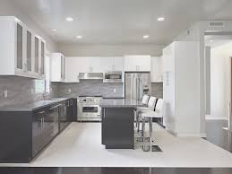 kitchen simple two toned kitchen cabinets artistic color decor