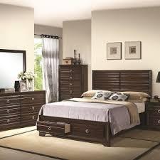 Black King Size Platform Bed Bedroom Platform Bed With Drawers For Contemporary Bedroom