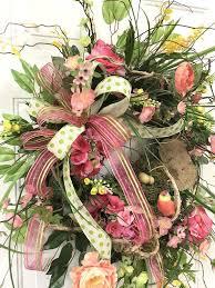 springtime wreaths springtime wreaths for front door spring summer wreath front