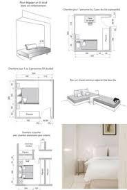 disposition des meubles dans une chambre bedroom dimension minimums as per standard mattress sizes