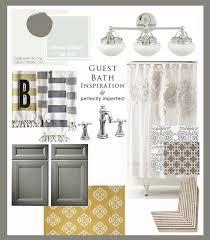 guest bathroom inspiration board u0026 design plan sea salt paint