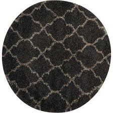 Black And Gray Area Rug Gray Shag Round Area Rugs Rugs The Home Depot