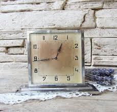 very rare antique clock kienzle crometa 8 days working vintage