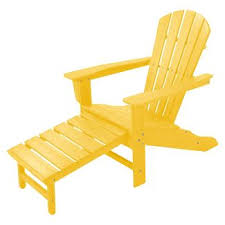 Yellow Plastic Adirondack Chair Yellow Resin Adirondack Chair Target