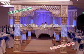 Wedding Reception Stage Decoration Images Royal Indian Wedding Stage Decoration Traditional Wedding Frp