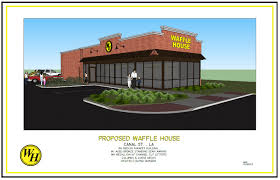 waffle house building new restaurant next to the va medical center