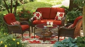 Walmart Outdoor Furniture Cushions Better Homes And Gardens Lake Island Cushions Walmart