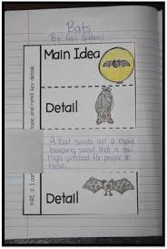 main idea and details with bats super second grade pinterest