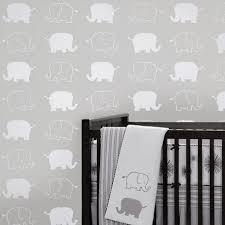 nursery elephants stencil pattern reusable stencils for diy