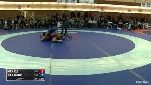 nicklee 61 con of 4 nick lee nittany lion wc vs joey lazor panther