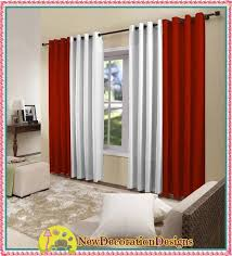 Curtain Design Ideas Decorating Decorative Blackout And White Curtain Designs 2016 Living Room