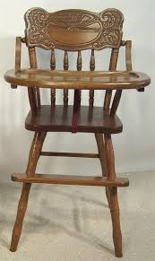 amish furniture sunburst back high chair