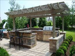 Prefab Outdoor Kitchen Grill Islands Kitchen Modern Outdoor Kitchen Custom Backyard Bbq Grills How To