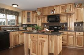 Furniture Style Kitchen Cabinets Hickory Wood Kitchen Cabinets Home Interior