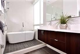 bathroom luxurious contemporary bathrooms design with a black