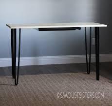 Diy Metal Desk by Metal Projects Sawdust Sisters