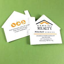 outstanding business cards unique shape card maker house seed