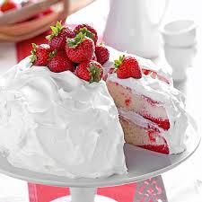 Halloween Poke Cake by Strawberry Poke Cake Recipe Taste Of Home