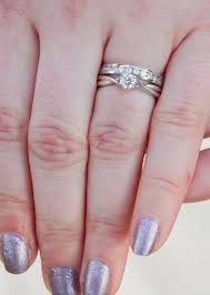 how to wear your wedding ring how do you wear your wedding ring and band popular wedding ring 2017