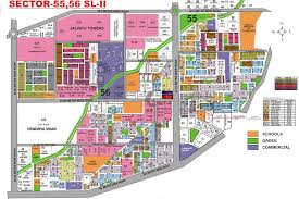 google maps floor plans the surya apartments cghs sector 55 golf course road gurgaon