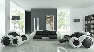 canapé design noir et blanc déco salon noir et blanc une dualité complémentaire