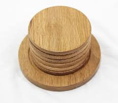 wooden drink coaster wood coasters with stand in oak steve freeman