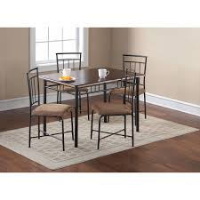 Breakfast Dining Set Dining Table Set For 4 Kitchen Nook Storage Ottoman Cubes Modern