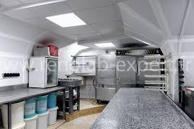faux plafond cuisine professionnelle nos réalisations en création et rénovations de fournils cuisines et