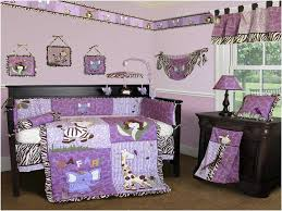 Zebra Print Crib Bedding Sets Black White And Purple Bedding Home Design U0026 Remodeling Ideas