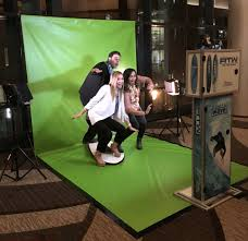 green screen photo booth boston scientific green screen photo booth and social wall