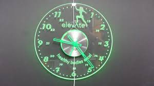 amazing wall clocks save up some energy with the use of led light wall clocks