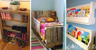 Incredibly Useful And Adorable Kids Pallet Furniture - Couches for kids rooms