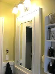 medicine cabinet lights above over medicine cabinet lighting lighting above non recessed medicine
