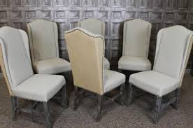 Bergere Dining Chairs Limed Oak Bergere French Style Chair Elegant Oak Dining Chairs