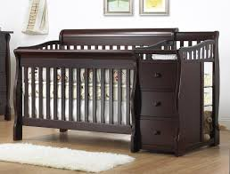 4 In 1 Convertible Crib With Changer Sorelle Princeton 4 In 1 Convertible Crib With Changer Espresso