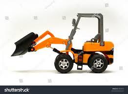 small model bulldozer on white stock photo 3827818 shutterstock