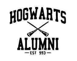 hogwarts alumni decal hogwarts alumni etsy