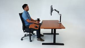 elevon super ergonomic keyboard tray for standing desks youtube