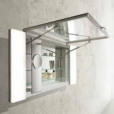 medicine cabinet with magnifying mirror doshi levien kali for