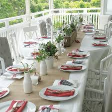 Christmas Table Settings Ideas Best 25 Casual Table Settings Ideas On Pinterest Natural Dinner