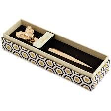 classic metallic gold bee letter opener desk accessories hallmark