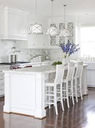 coastal style hamptons style kitchen makeover needs more pops