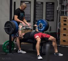 bench press 3 3 3 1 1 1 u0026 4 rft power cleans push ups and abmat