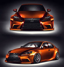lexus sport orange lexus tarts up a handful of new iss u2014and an lfa 2013 sema show