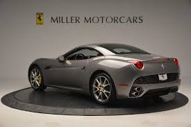 Ferrari California Black - 2012 ferrari california stock 4338 for sale near greenwich ct