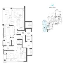 deepsky north tower residence floor plan at water club north palm