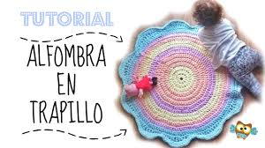 alfombra en trapillo bonita y facil home decor youtube