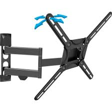 full motion tv wall mount 60 inch barkan a better point of view full motion curved flat panel dual